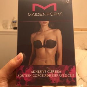 NEVER USED Adhesive clip bra C cup